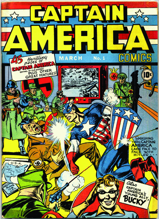 captain america With Great Chutzpah Comes Great Responsibility: IS THE THING REALLY JACK KIRBY?