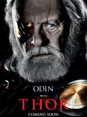 odin thor poster