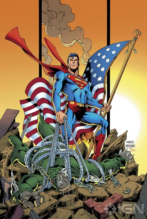 variant Dan Jurgens 469x700 DC Attacks Fans With Superman Unchained Variant Covers Celebrating Superman Turning 75.