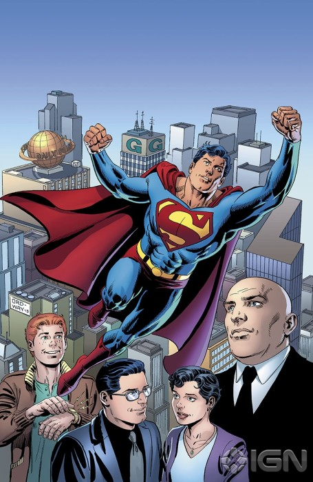 variant Jerry Ordway 455x700 DC Attacks Fans With Superman Unchained Variant Covers Celebrating Superman Turning 75.