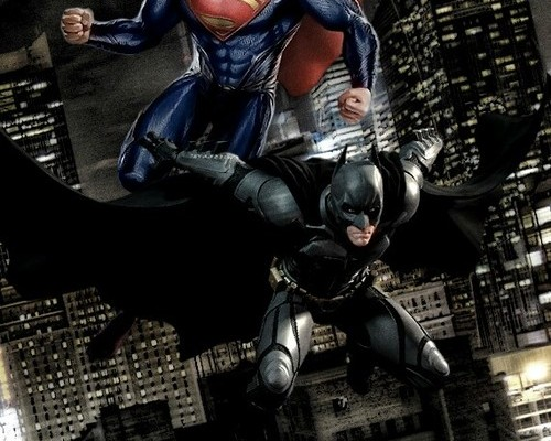 Oi BALE Dust Off The Cowl, CAVILL Wants BATMAN SUPERMAN Team Up!