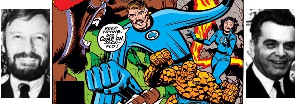 kirby logo With Great Chutzpah Comes Great Responsibility: JACK KIRBY VS. MR. FANTASTIC