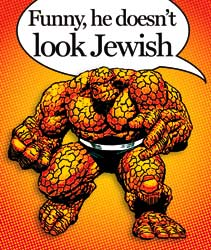 thingjew With Great Chutzpah Comes Great Responsibility: JACK KIRBY & THE THING  2 NICE JEWISH BOYS