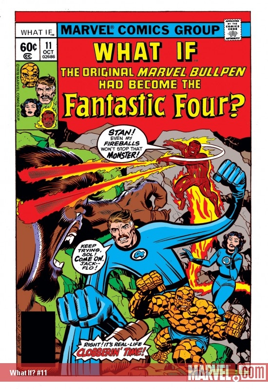 what if 11 With Great Chutzpah Comes Great Responsibility: JACK KIRBY VS. MR. FANTASTIC
