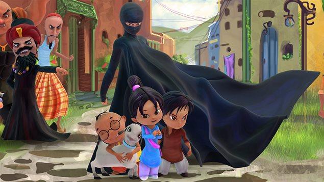 130724 wz0r6 burqa avenger sn635 Burka Avenger! Pakistans New Hero Defends Girls Education