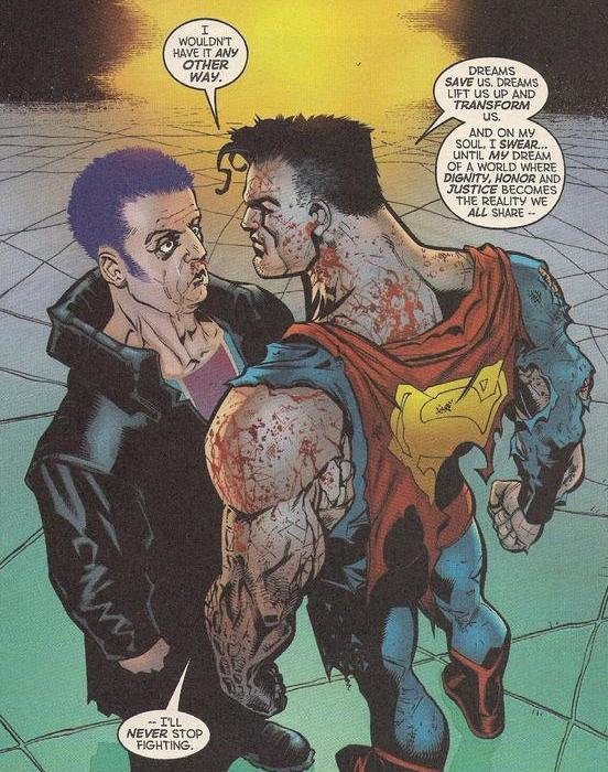 Superman CONTRARIAN FANBOY: Theres More To Life Than GRITTINESS.