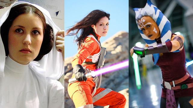 star wars women cosplay