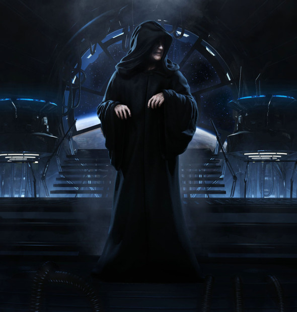 1404962 swfu emperor palpatine 590x621 RUMOR: PALPATINES STAR WARS EPISODE 7 Role Revealed?