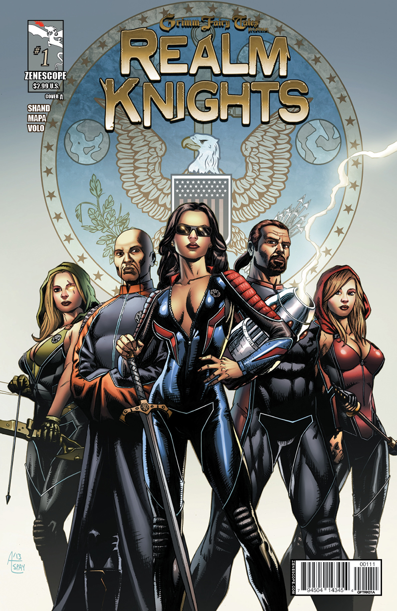 GFTRK01 coverA Grimm Fairy Tales Presents: Realm Knights #1 Review
