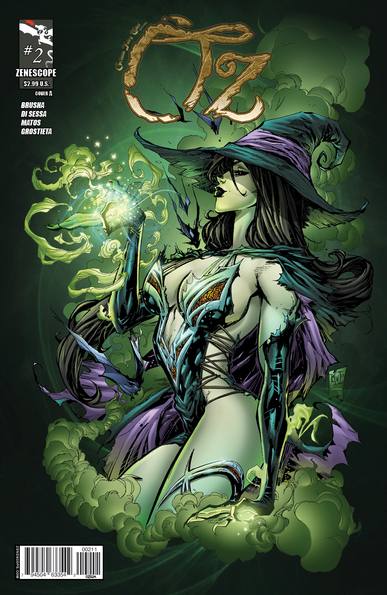 OZ02 coverA Grimm Fairy Tales Presents: OZ #2 Review