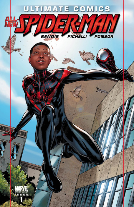 UltimateComicsSpiderMan 1 MilesVariant 455x700 Ultimate Comics Cataclysm: Why The ULTIMATE UNIVERSE Needs Less Death and More Hope