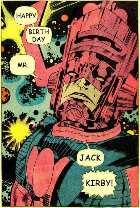 kirby birthday 473x700 Celebrate Jack Kirbys Birthday By Helping Comic Creators In Need!