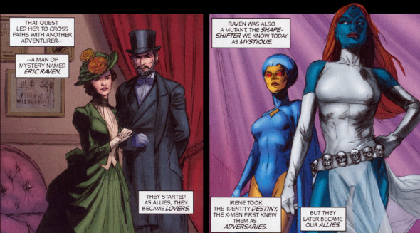 mystique mr raven 590x327 Contrarian Fanboy: Mystique Needs To Be An LGBT Character In The X MEN MOVIES!