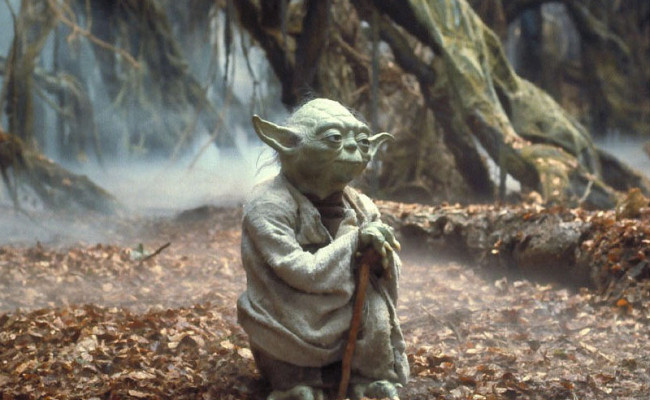 This New Picture of Young Warrior YODA Is Better Than Any STAR WARS EPISODE 7 News
