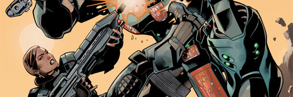 Halo Initiation Banner Halo: Initiation #3 Review