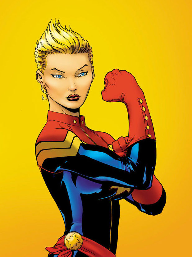 comics captain marvel 11 Stan Lee Says BLACK WIDOW MOVIE Likely; BLACK PANTHER and DOCTOR STRANGE Already In The Works