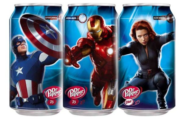 Dr pepper latas avenger 590x393 9 Things You Need To Know for NY COMIC CON