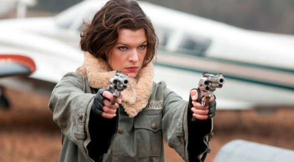 EXPENDABELLES MILLA JOVOVICH  590x326 Female Driven EXPENDABELLES Might Star Meryl Streep, Cameron Diaz, Milla Jovovich And Possibly Sigourney Weaver?