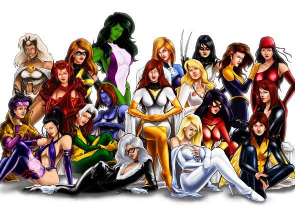 Marvel lady superheroes 590x415 Kevin Feige Stays Silent On MARVEL Female Superhero Movies