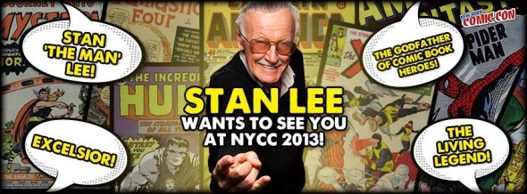 stan lee 590x218 9 Things You Need To Know for NY COMIC CON