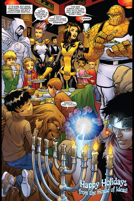 Marvel Chanukah1 Learn About Chanukah Through Comics