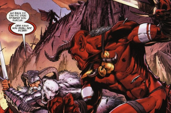 SURTUR  590x392 Wish List For Marvels THOR 3...MAJOR SPOILERS AHEAD!