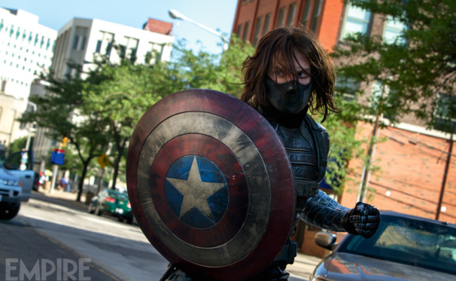 Cap's Shield Stolen In New CAPTAIN AMERICA: THE WINTER SOLIDER Pictures
