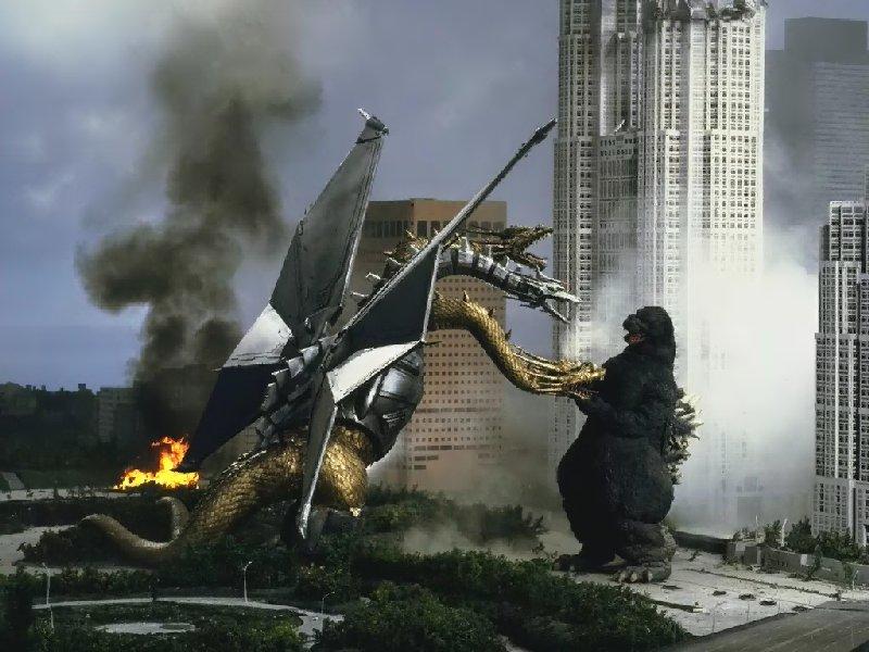 Godzilla Vs Mecha King Ghidorah king-ghidorah-screenshot
