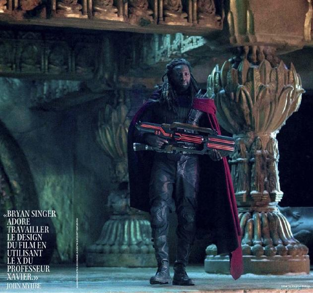BISHOP DAYS OF FUTURE PAST BISHOP Has Massive Gun in DAYS OF FUTURE PAST