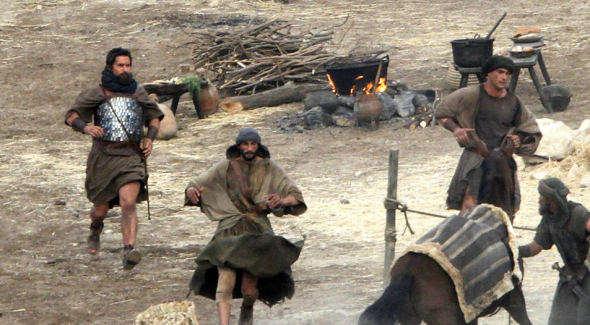 EX 04 590x325 First Look At Christian Bale As Moses From The Set Of Ridley Scotts EXODUS