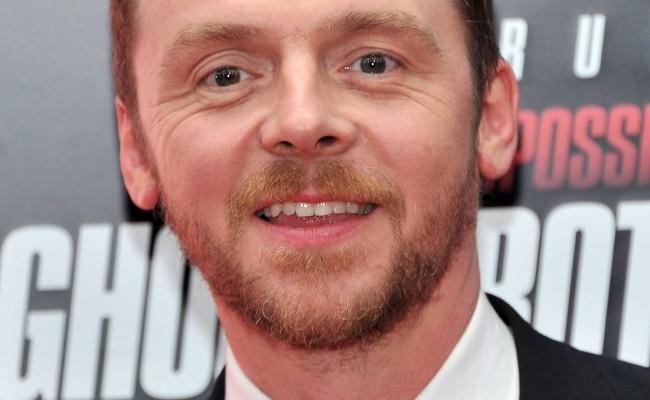 Simon Pegg Seems Like a Good Fit for STAR TREK BEYOND