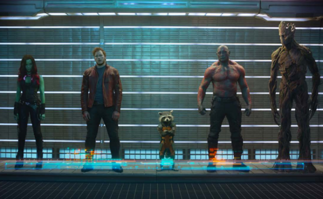 Marvel Releases First Official GUARDIANS OF THE GALAXY Still