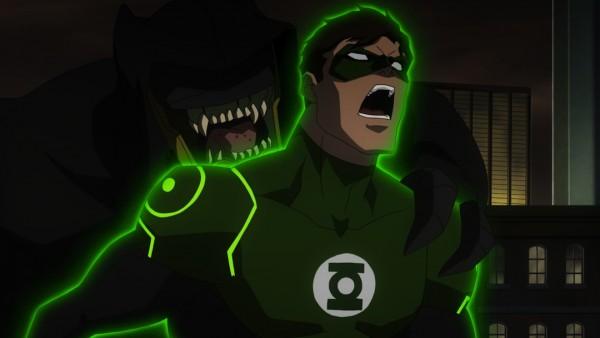 Green Lantern Learns Batman Is Real In JUSTICE LEAGUE: WAR Clip