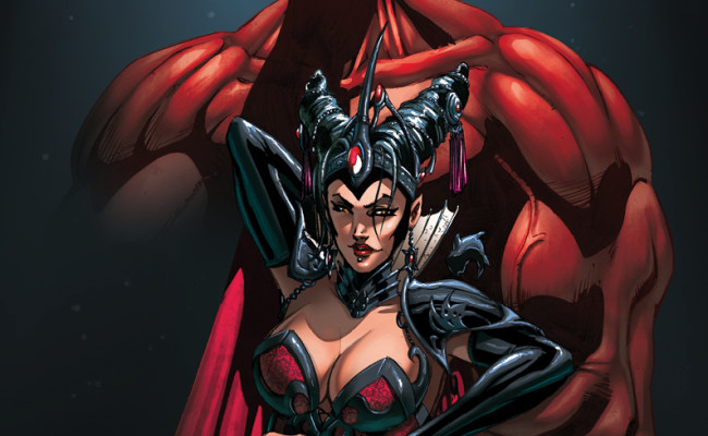 FIRST LOOK! Grimm Fairy Tales presents Dark Queen One-Shot