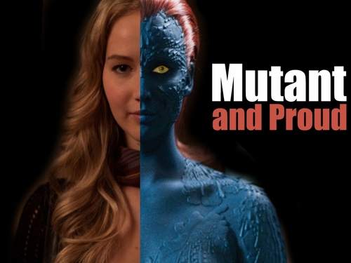 Jennifer as Raven Darkholme Mystique jennifer lawrence 24819122 500 375 SPOILER ALERT: We Know Who Wolverine Has To Stop In DAYS OF FUTURE PAST. Nyah Nyah.