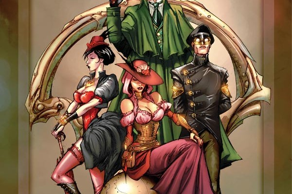 LEGENDERRY: A STEAMPUNK ADVENTURE #1 Review