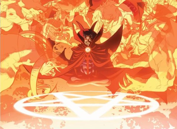 Doctor Strange is a card carrying member for the New Avengers