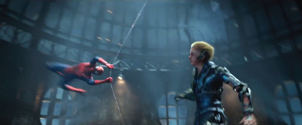 the amazing spider man 2 hob goblin or green goblin 590x246 THE AMAZING SPIDER MAN 2 Review   Clumsy, Preachy, But Awesome!