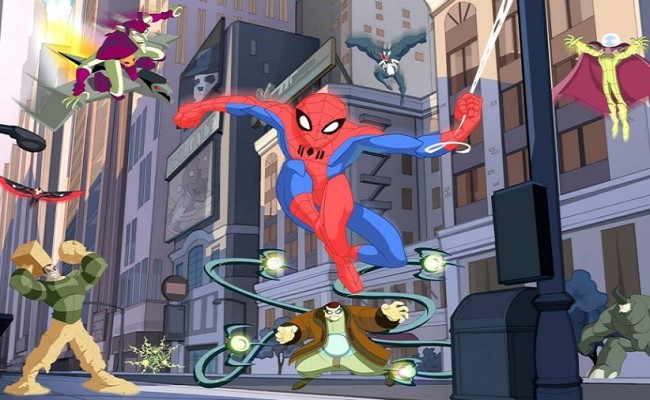 SPECTACULAR SPIDER-MAN Arrives on BLU-RAY!