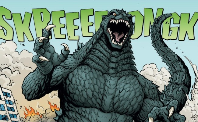 Why YOU Should be Reading GODZILLA: Rulers of Earth