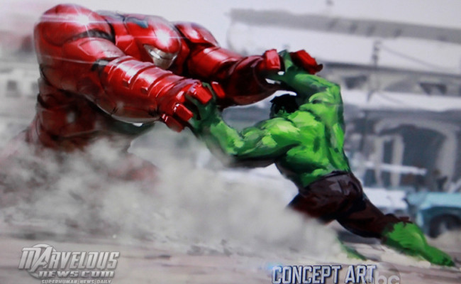 Check Out First Pics of AVENGERS: AGE OF ULTRON