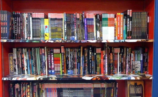 Marvel + DC Don't Make Feb. BookScan Top 20 Adult Graphic Novel List