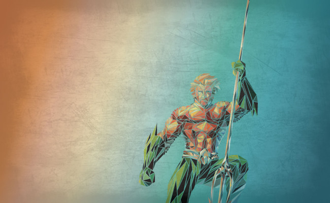 Polygonal Aquaman is Badass