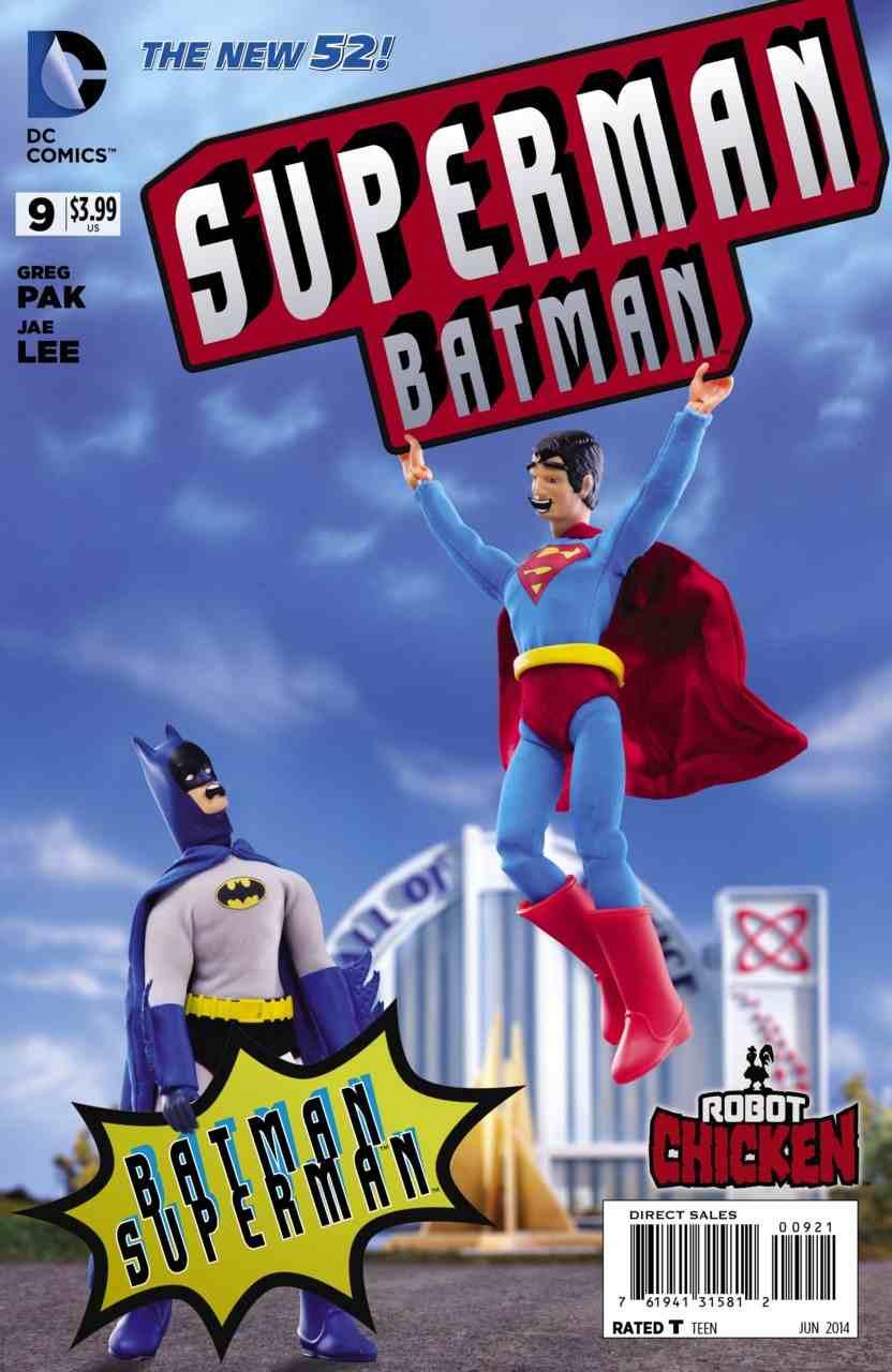 Batman Superman 9 variant1 Batman/Superman #9 Review