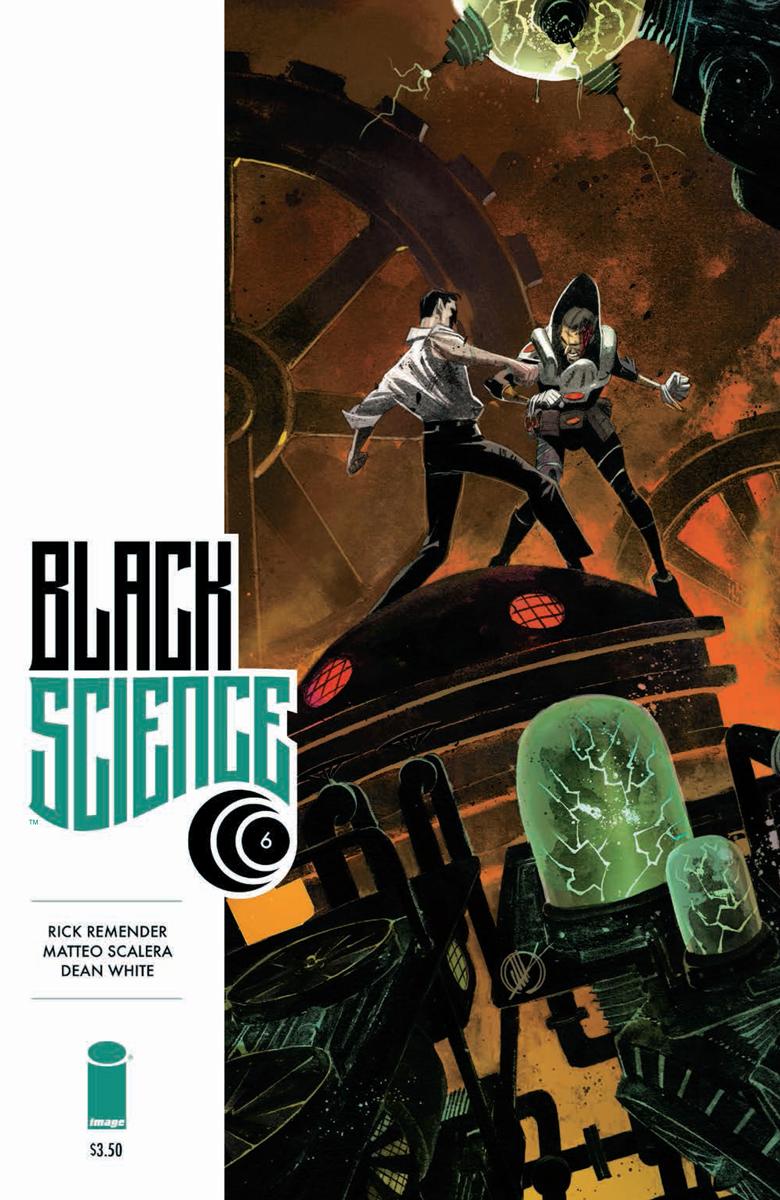 BlackScience06 CVR Black Science #6 Review