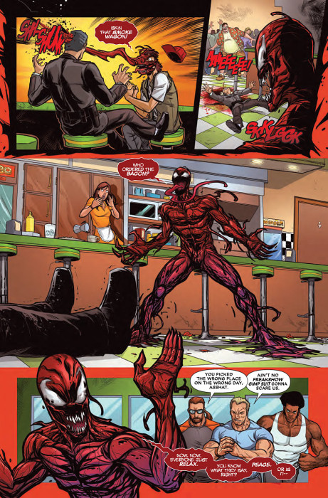 Carnage 461x700 Deadpool VS Carnage: 3 Mental Reasons To Pick It Up