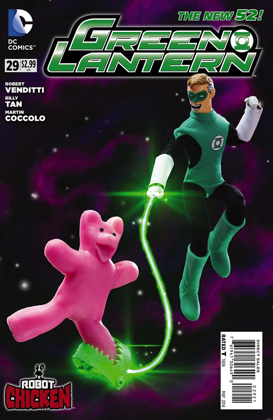 Green Lantern Vol 5 29 Cover 3 VENDITTI ON HAL JORDAN, WALLY WEST & VALIANT EVENT: ARMOR HUNTERS!