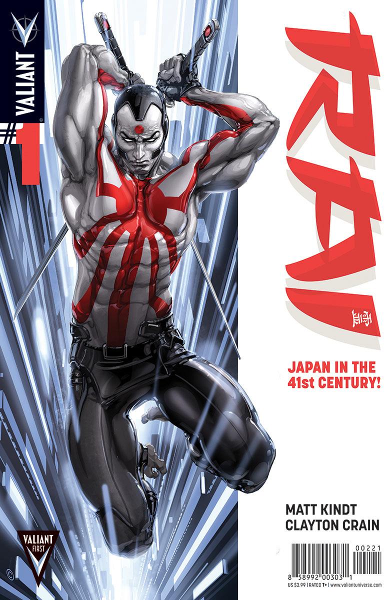 RAI 001 COVER Rai #1 Review