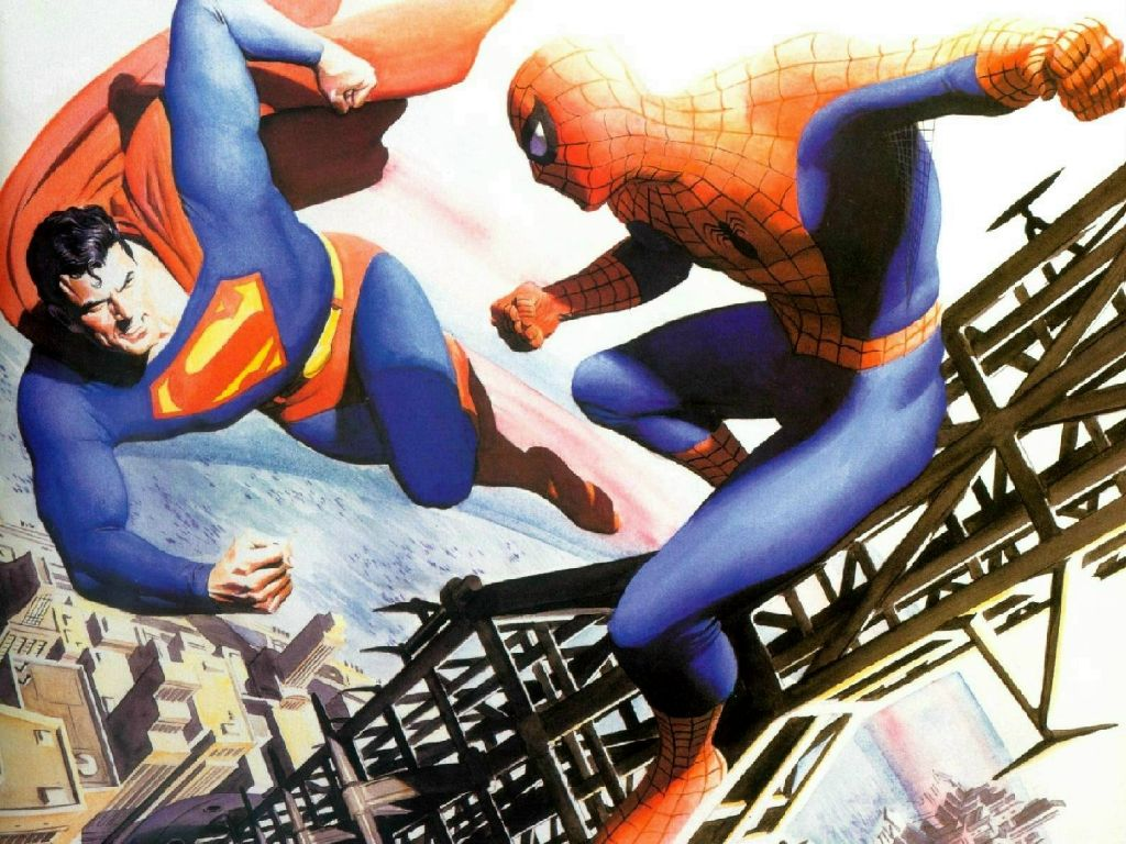 Superman SpiderMan COMIC BOOKS: My Comfort Food