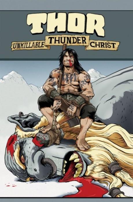 Thor Unkillable Thunder Christ 460x700 EXCLUSIVE: Eric M. Esquivel talks LOKI: RAGNAROK AND ROLL